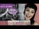 Urban Decay Hi-Fi Shine Lip Gloss Swatch Review | CaitMarks