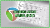Recording Latency Manual Offset in REAPER