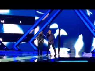 Ирина Дубцова и Стас Пьеха на на финале конкурса Мисс Русское Радио
