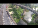 Прыжок с моста 25 метров. Тарзанка