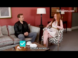 How well does sam heughan know outlander [rus sub]