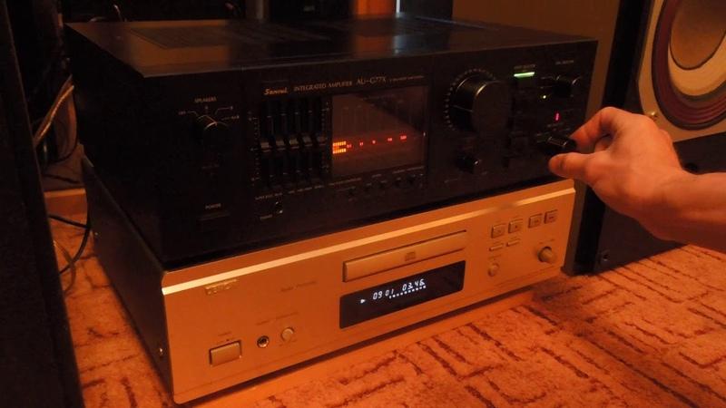 Sansui AU-G77X Stereo Integrated Amplifier х balanced amp system