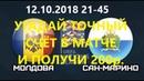 Прогноз Молдова - Сан-Марино. Лига Наций|Ставка на кэф 2,15