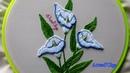 Hand Embroidery: Calla Lily Flower | Bordados a mano: Flor de Cala | Artesd'Olga