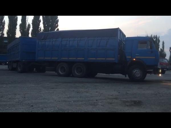 Зерновозы КамАЗ уходят в Рейс (Новоалександровск) PEREGRUZ