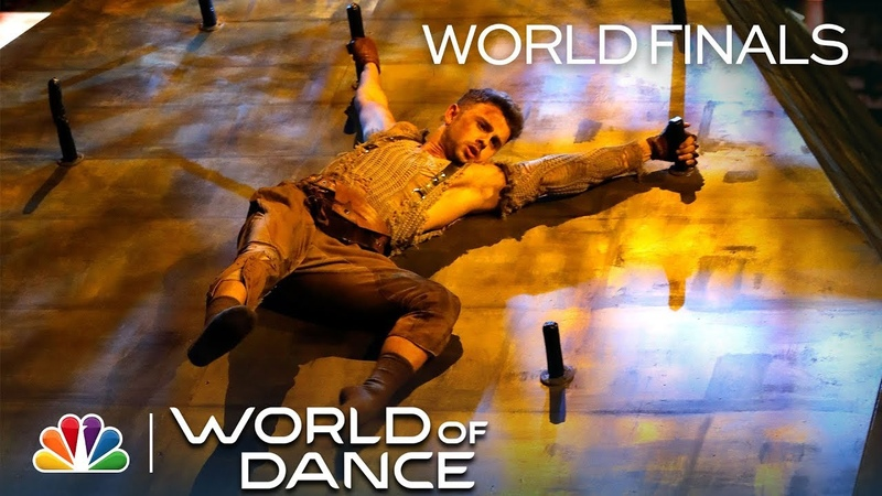 Michael Dameski Gives His All to 2WEI's Survivor - World of Dance 2018 (Full Performance)