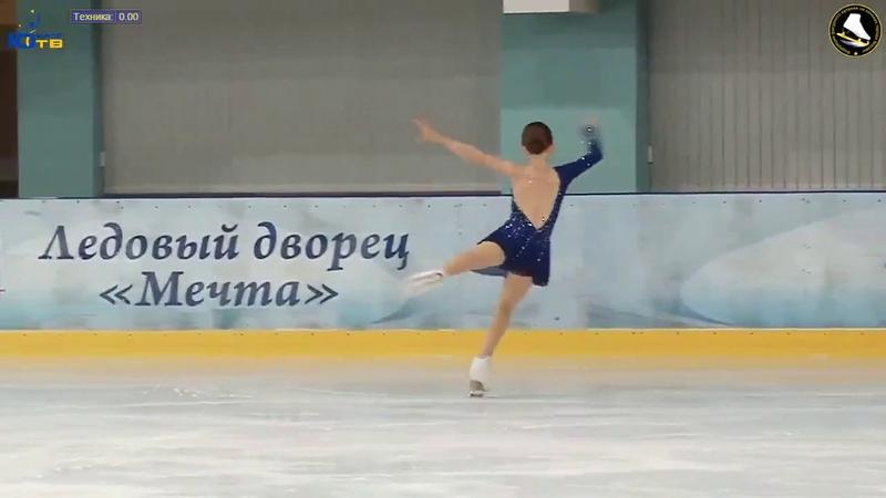 Ника КАСЬЯНОВА SP на призы Юниор ТВ 2018 Nika KASYANOVA