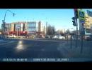 Авария на Ленинском - Новаторов (8.50_16.03.2018)