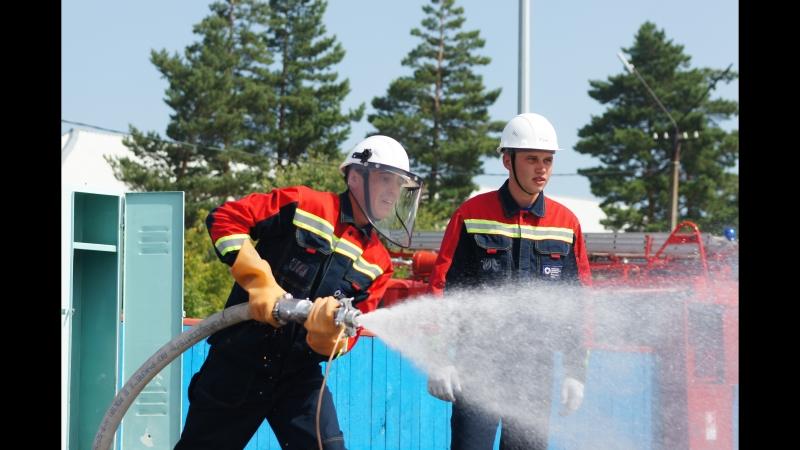 Соревнования добровольных пожарных формирований. Кузбасский и Алтайский филиалы СГК