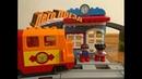 Мультик для детей Мир Лего Дупло №1 прибытие поезда на станцию.