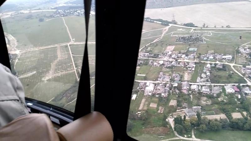 Вид полета с другого ракурса!