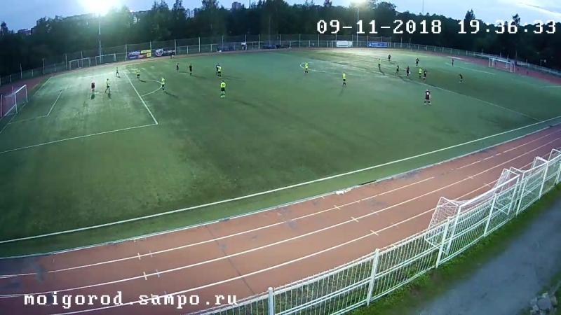 Чемпионат ПГО 2018 Элемент-ДЮСШ 2002(3-1) Гол КЭП. 11.09.2018