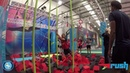 Chairboys train at Rush Trampoline Park in High Wycombe