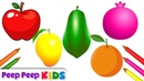 Learn Fruits Names | Peep Peep Kids Videos