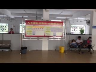 Китайская больница: собаки, мопеды, люди...