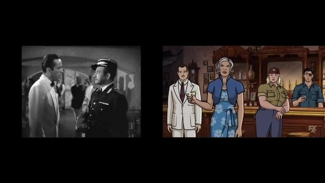 Shocked! (side by side with Casablanca 2)