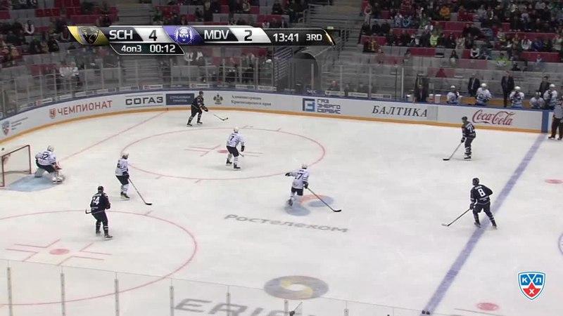 Моменты из матчей КХЛ сезона 14/15 • Гол. 5:2. Пайгин Зият (ХК Сочи) со средней мощно 18.02
