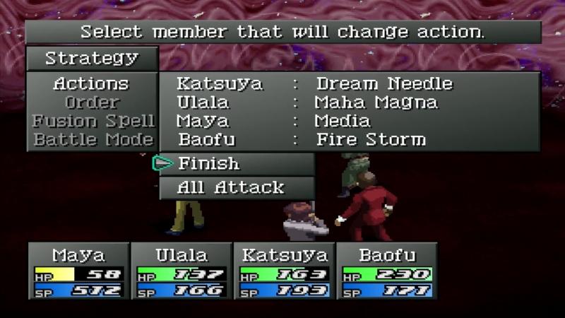 06 DimaMustDie VS Joker Noriko (Persona 2 Eternal Punishment / PSone)