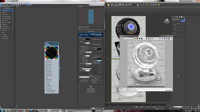 Vray Metal material tutorial in 3ds Max 1 2