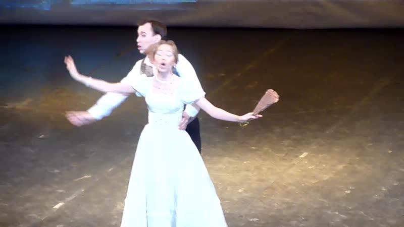 Анастасия Качалова Александр Лукан дуэт Мариэтты и Наполеона из оперетты И Кальмана Баядера