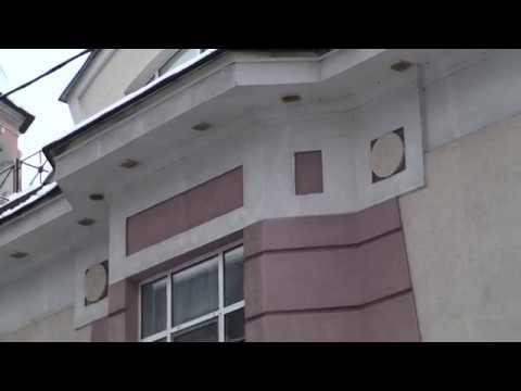Утепление пенопластом с противопожарными рассечками фасадов гостиницы МПС в Москве