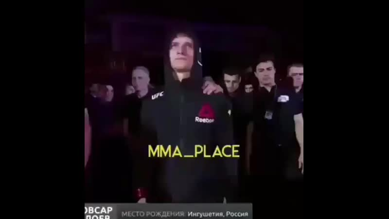 Бой Мовсара Евлоева в UFC