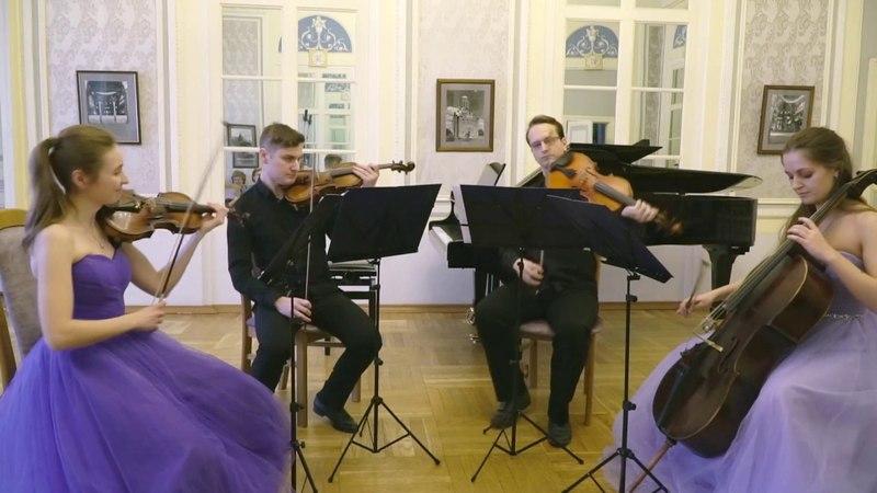 В Моцарт Квартет №13 ре минор KV 173 Исполняет Струнный квартет им Л Н Толстого