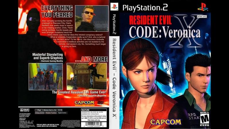 [PS2/USA] Resident Evil Code: Veronica X - 05. Самый живучий тиран