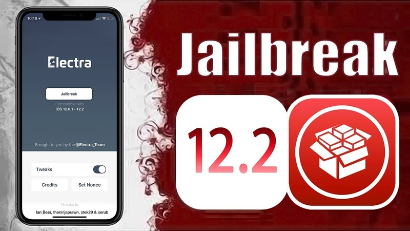 Electra RC3 NEW - iOS 12.2 Support - 12.1.4 - 12.1.3 Jailbreak with Cydia!