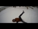 VLOG: Паркур Зимой   Dima Mavrin