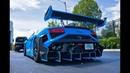 Lamborghini Gallardo Super Trofeo Race Car Street Legal BEAST Start Up Drive at Lamborghini Miami