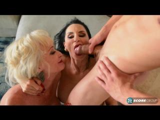 Rita daniels and leah l'amour: dream three-way (09.03.2017) [hd 1080, anal, big tits, blowjob, facial, granny, mature, milf]