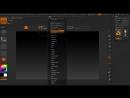 Настройка интерфейса ZBrush 4R7 64 bit