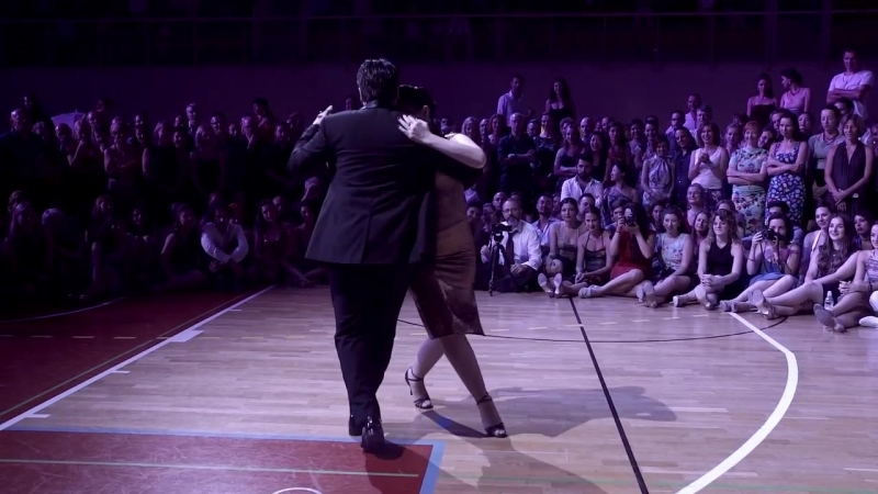 Fernando Sanchez y Ariadna Naveira - El Portento - Angel DAgostino, MSTF 2016
