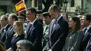 Масштабное памятное шествие вБарселоне, где ровно год назад произошла целая серия терактов