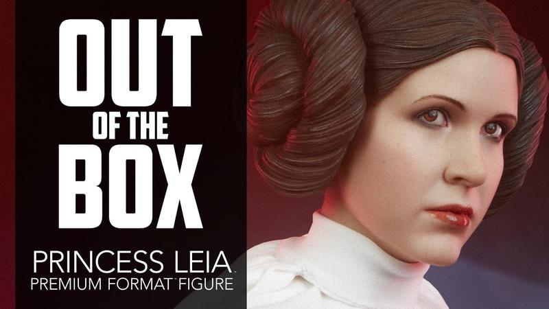 Princess Leia Premium Format Figure Unboxing - Sideshow