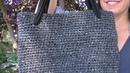 COMO HACER UN BOLSO FACIL DE CROCHET DE PUNTO BAJO EN GANCHILLOsingle crochet stitch bag
