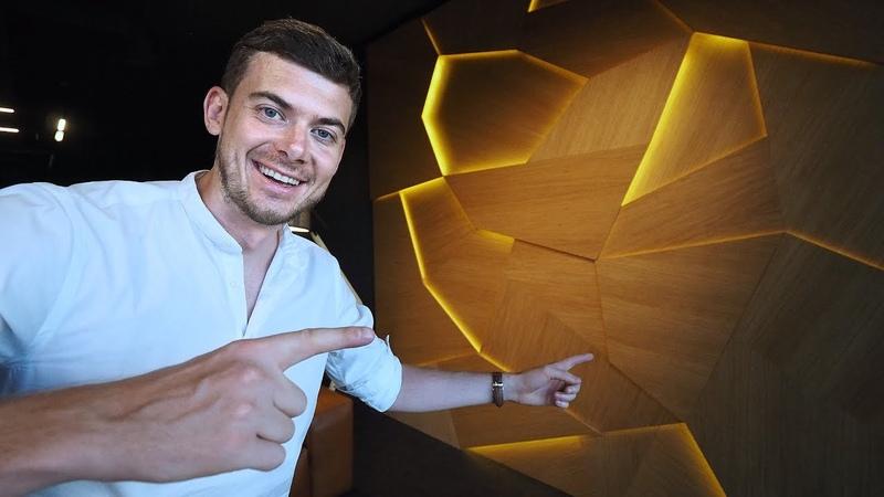 3D панели на стены. Новый свет в офисе