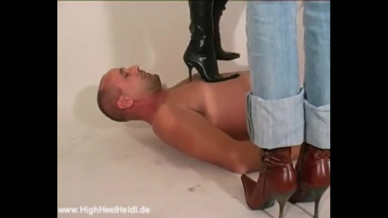 Trampling boots two Germany girls