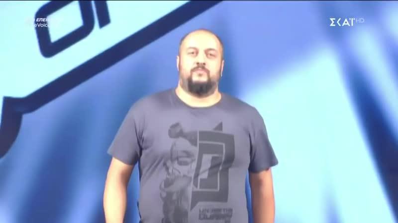 Παναγιώτης Παπαγεωργίου - Frozen - 7o Blind Audition - The Voice of Greece.mp4