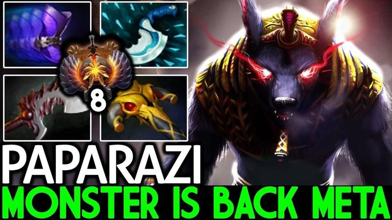 Paparazi [Ursa] Monster is Back Meta Slayer Tanker 7.21 Dota 2