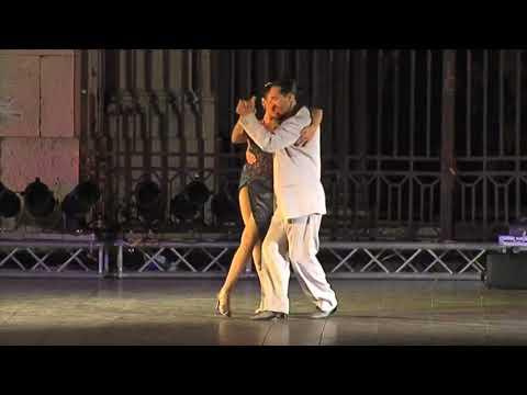 Густаво Росас и Гизела Натоли - Фестиваль Аргентинского Танго в 2008 году.