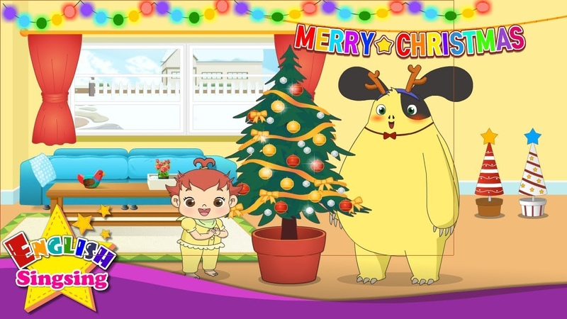 Deck the Halls Christmas Song for kids with Lyrics
