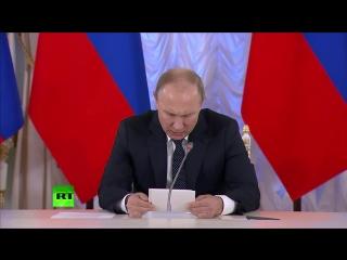 Путин на заседании Совета по культуре и искусству  LIVE