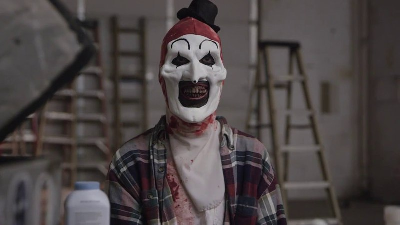 Art the Clown time lapse makeup transformation
