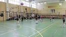 Соревнования по волейболу с участием команды города