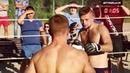 Отличный бой двух настоящих Боксеров !