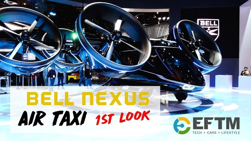 BELL Nexus Air Taxi at CES