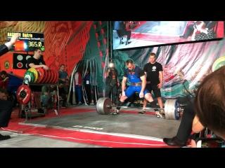 Насонов Дмитрий становая тяга 365 кг
