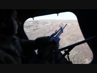 Украинские боевики тренируются бить своздуха пообъектам Донбасса
